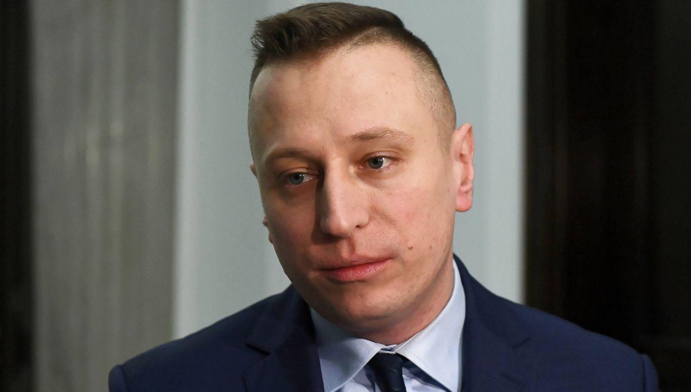 Krzysztof Brejza (fot. arch. PAP/ Rafał Guz)