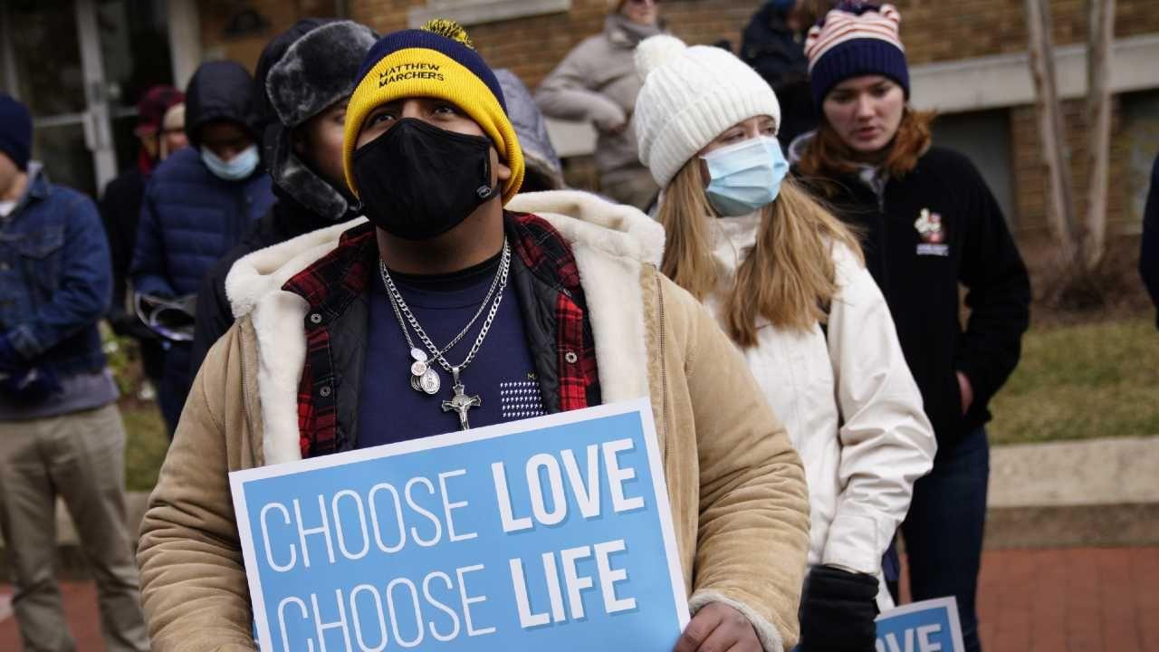"""""""Marsz dla życia"""" odbywa się od lat (fot. EPA/WILL OLIVE)"""