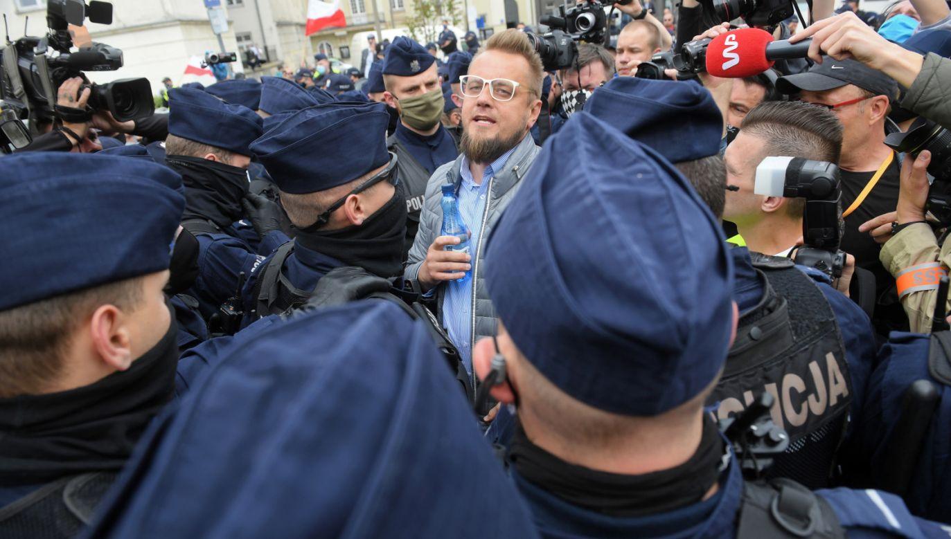 Paweł Tanajno (fot. PAP/Radek Pietruszka)