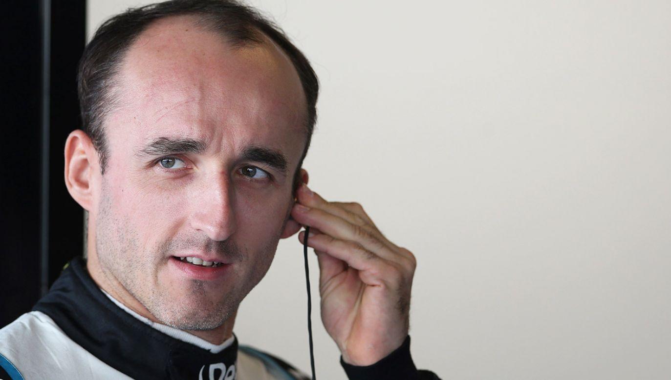Robert Kubica jest zadowolony z pierwszych dni testów w Jerez. (fot. Charles Coates/Getty Images)