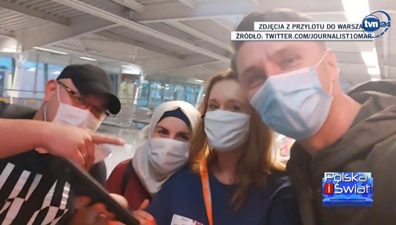 Informacja o pobiciu Omara miała się nie ukazać (fot. TVN24)