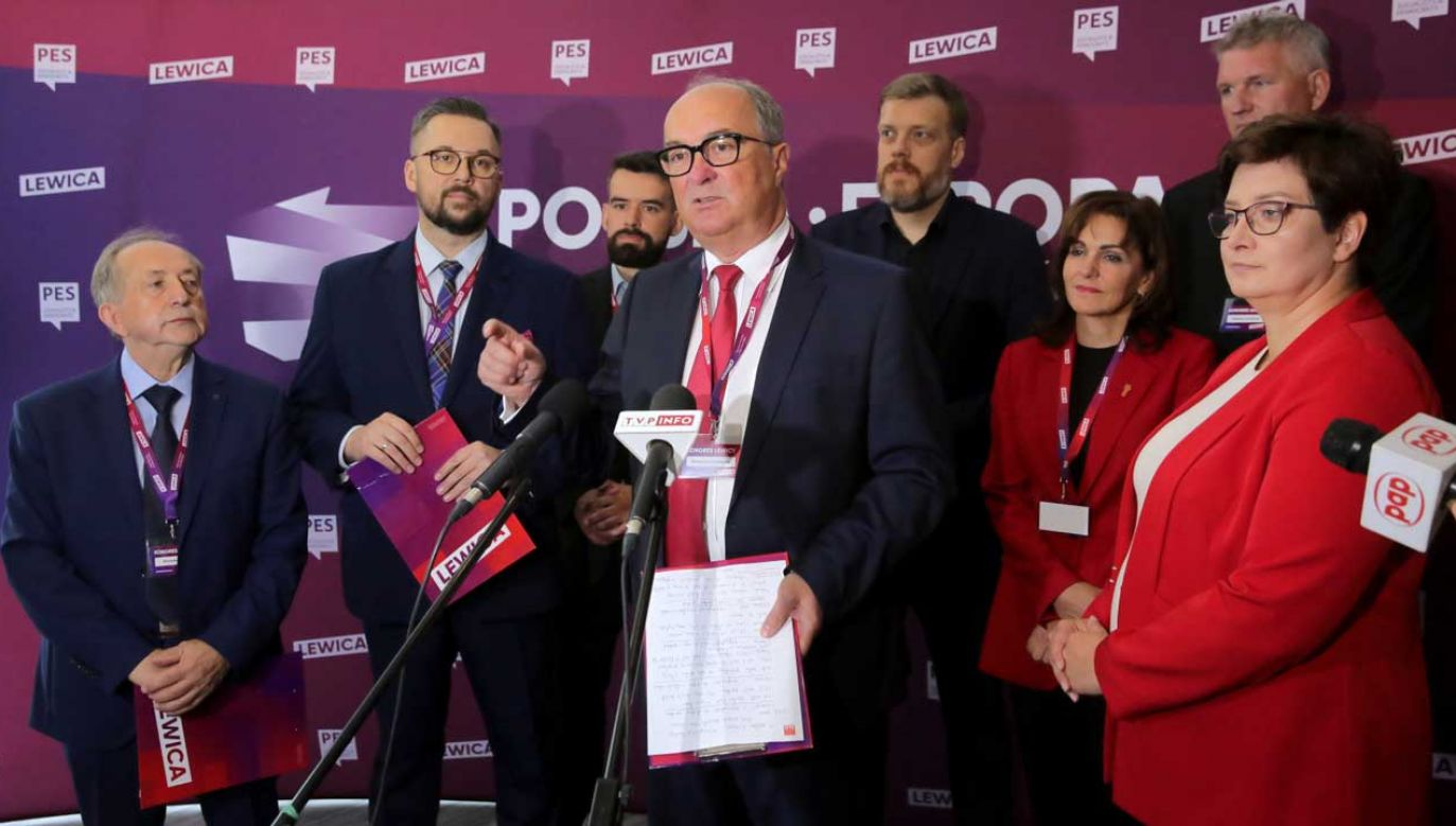 Serię regionalnych konwencji Lewicy w listopadzie zakończy konwencja krajowa (fot. PAP/Tomasz Waszczuk)