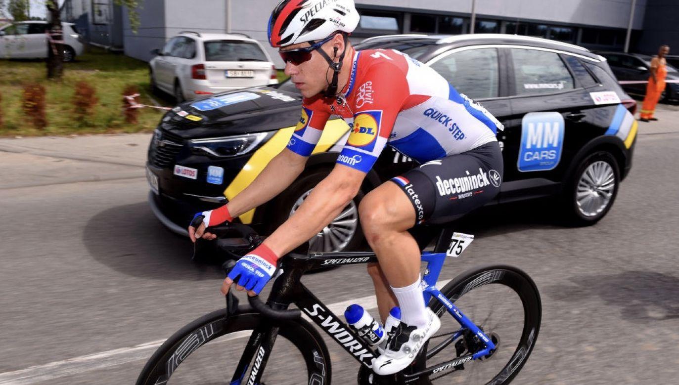 23-letni Jakobsen uległ wypadkowi 5 sierpnia na finiszu pierwszego etapu TdP w Katowicach (fot. Luc Claessen/Getty Images)
