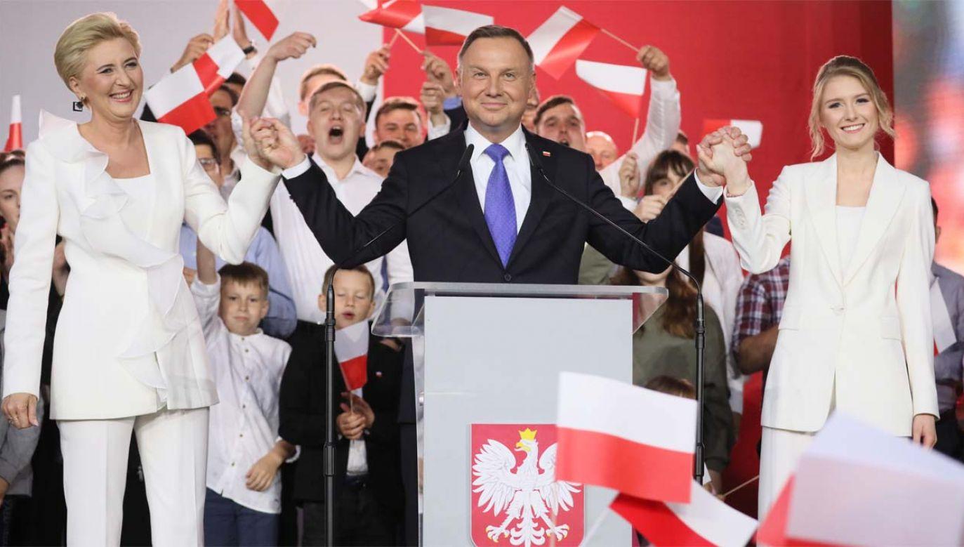 Prezydent Andrzej Duda jest bliski reelekcji (fot. PAP/Leszek Szymański)