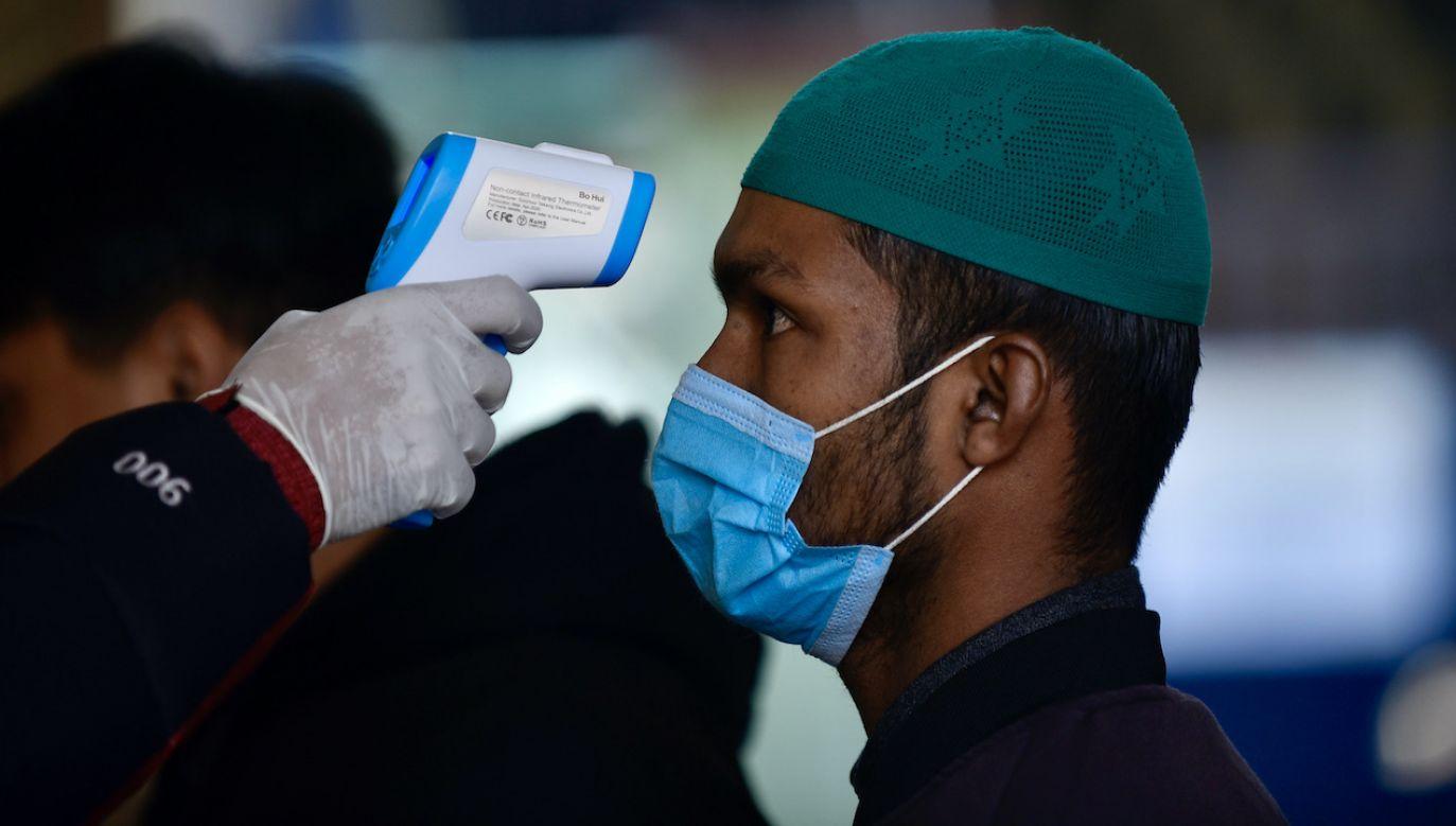 Pierwsze znane przypadki mukormykozy u pacjentów z COVID-19 na Półwyspie Arabskim (fot. N.Maharjan/Nur/Getty Images)
