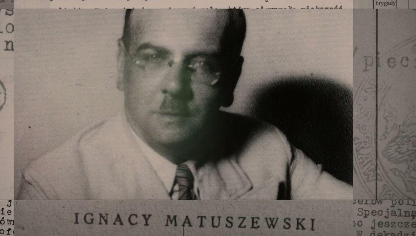 Ignacy Matuszewski nie był w stanie rozwinąć swojej działalności politycznej tak, jak planował (fot. IPN)