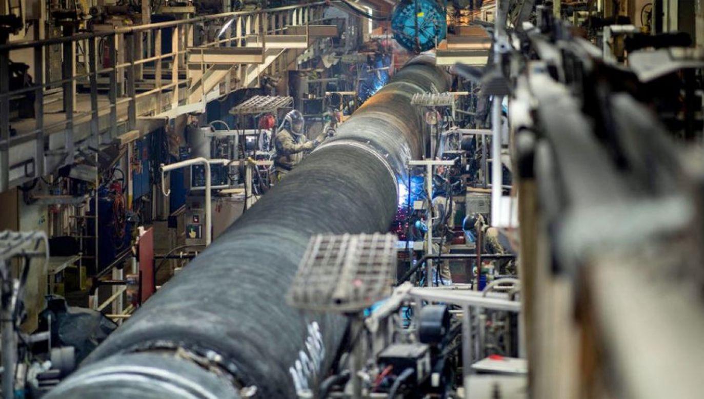 Budowa Nord Stream 2 może się poważnie opóźnić (fot. mat.pras.)
