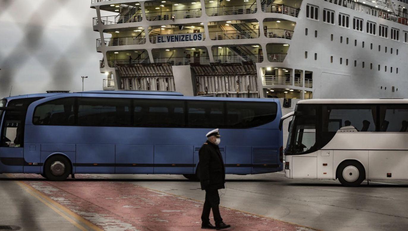 Na statku jest 666 członków załogi i blisko 1 tys. pasażerów (fot. Dimitris Lampropoulos/NurPhoto via Getty Images, zdjęcie ilustracyjne)