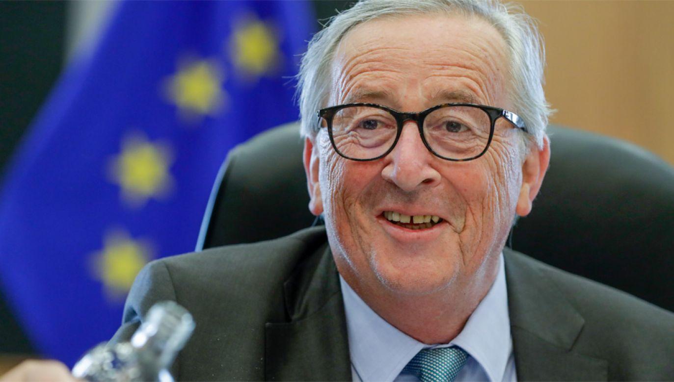 Kadencja szefa KE Jean-Claude'a Junckera wygasa w październiku (fot. PAP/EPA/STEPHANIE LECOCQ)