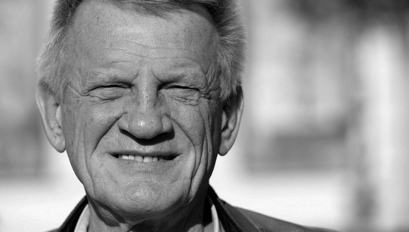 Bronisław Cieślak miał 77 lat (fot. PAP/Piotr Polak)