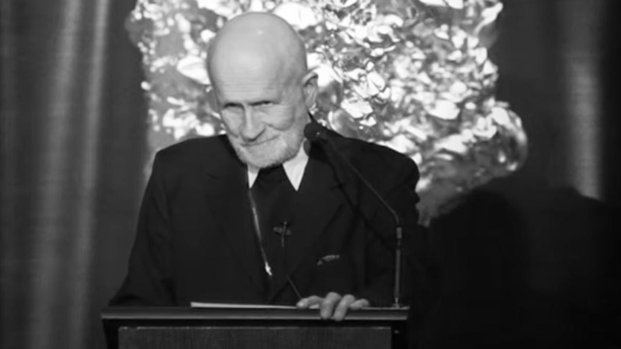 Ostatnie lata życia o. Wacław Hryniewicz spędził we wspólnocie oblackiej w Lublińcu (fot. YouTube/ Copernicus Center for Interdisciplinary Studies)