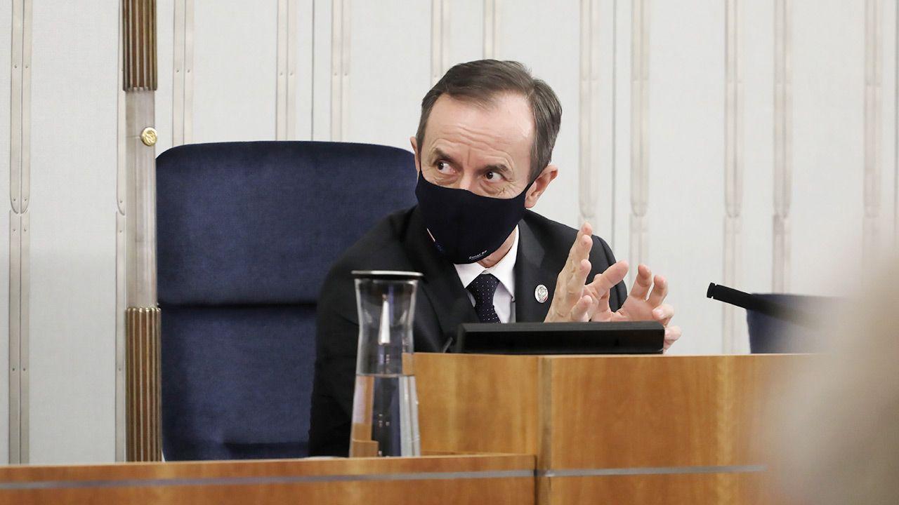 Marszałek Senatu Tomasz Grodzki (fot. PAP/Albert Zawada)