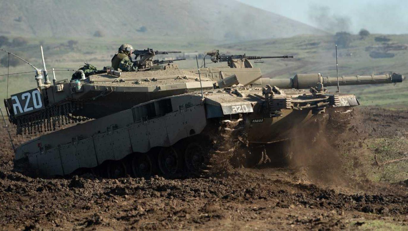 Izrael twierdzi, że akcja była odwetem (fot. IDF)