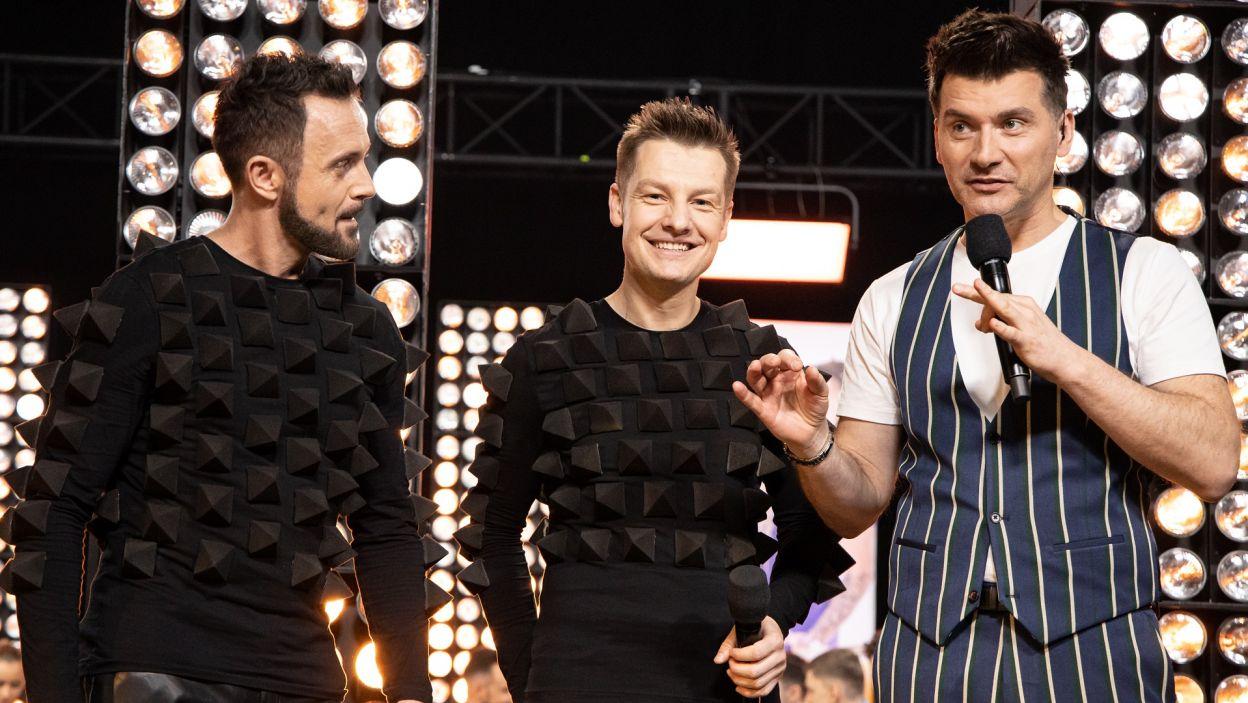 """Jednak tym razem chłopaki nie podołali układowi z piosenki """"Scream"""" i dostali jedynie 17 punktów (fot. TVP)"""