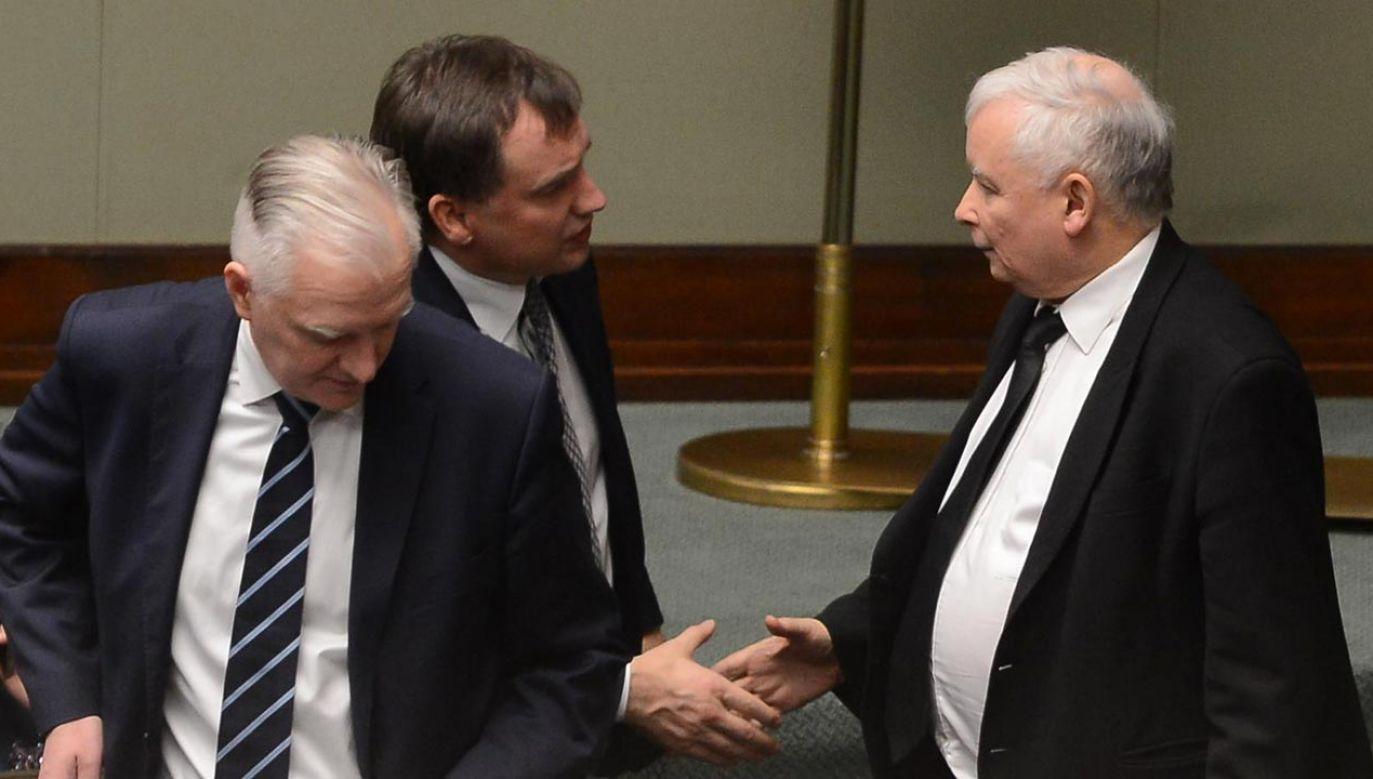 Są informacje, jaką rolę będzie odgrywać w rządzie Jarosław Kaczyński (fot. PAP/Jakub Kamiński)