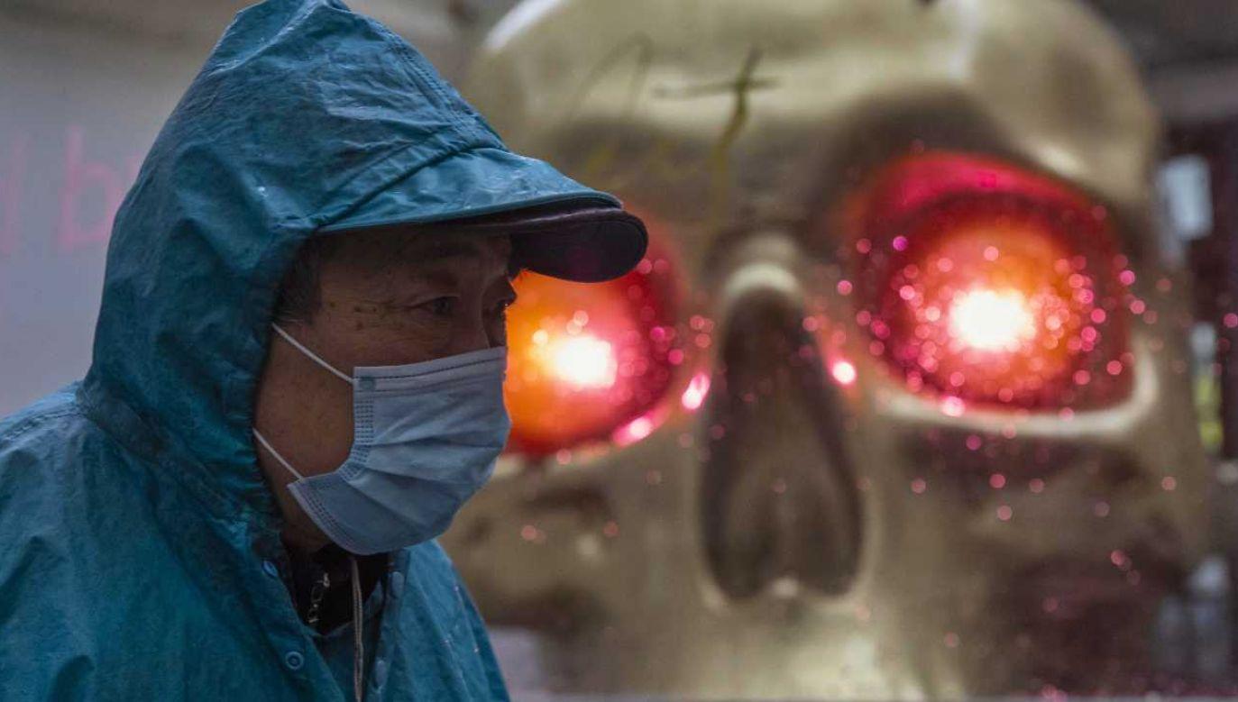 W prowincji Hubei wykryto koronawirusa po raz pierwszy (fot. PAP/EPA/ALEX PLAVEVSKI)