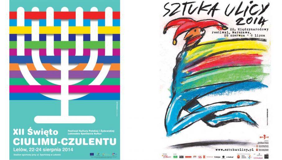 Plakaty Wojciecha Korkucia (fot. Wojciech Korkuć)
