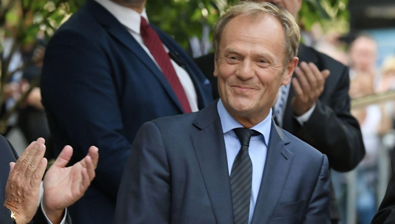 Tusk skomentował wyniki wyborów (fot. PAP/Adam Warżawa)