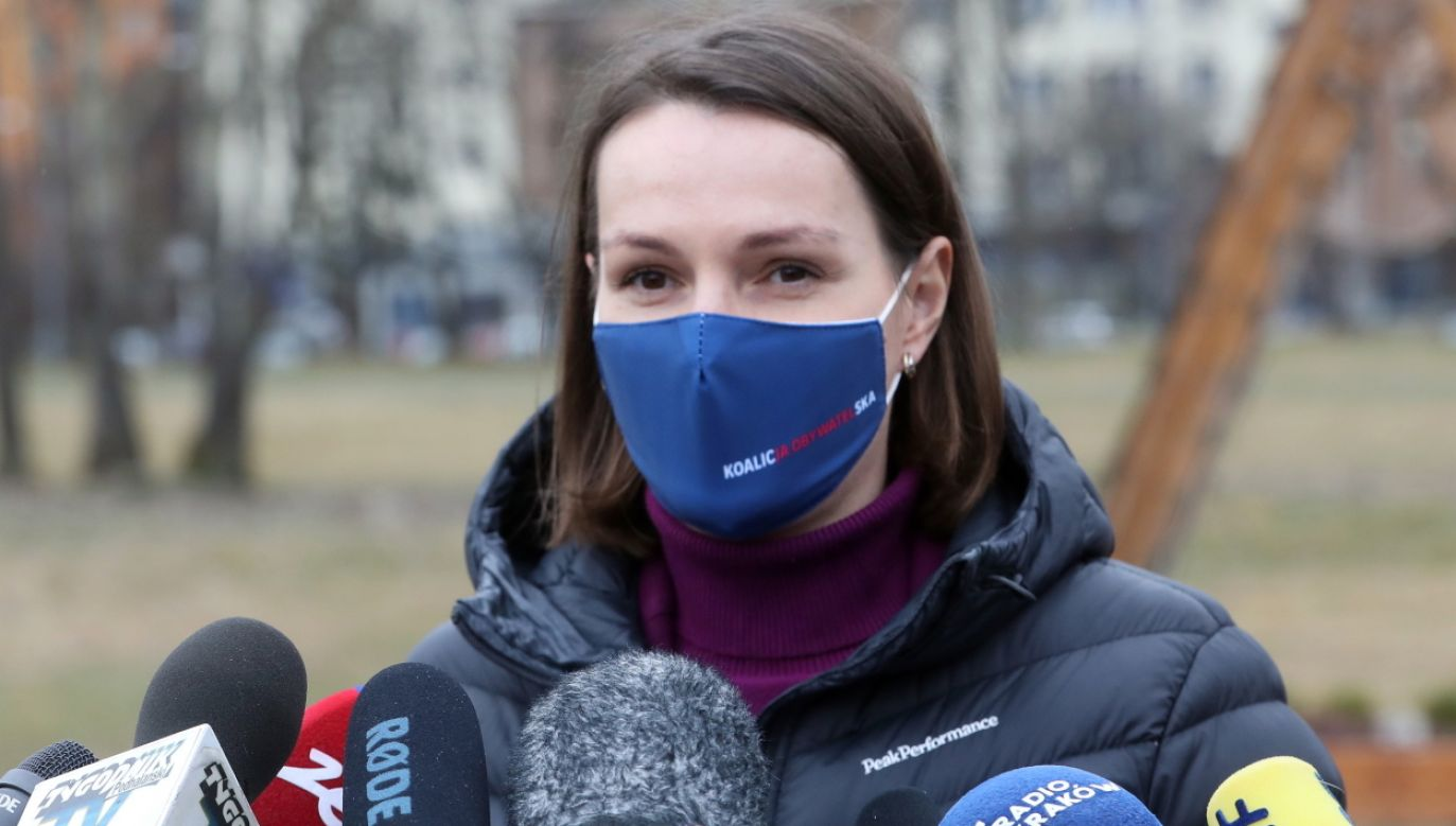 Jagna Marczułajtis zabiera głos ws. Andrzeja Guta-Mostowego (fot. PAP/Grzegorz Momot)