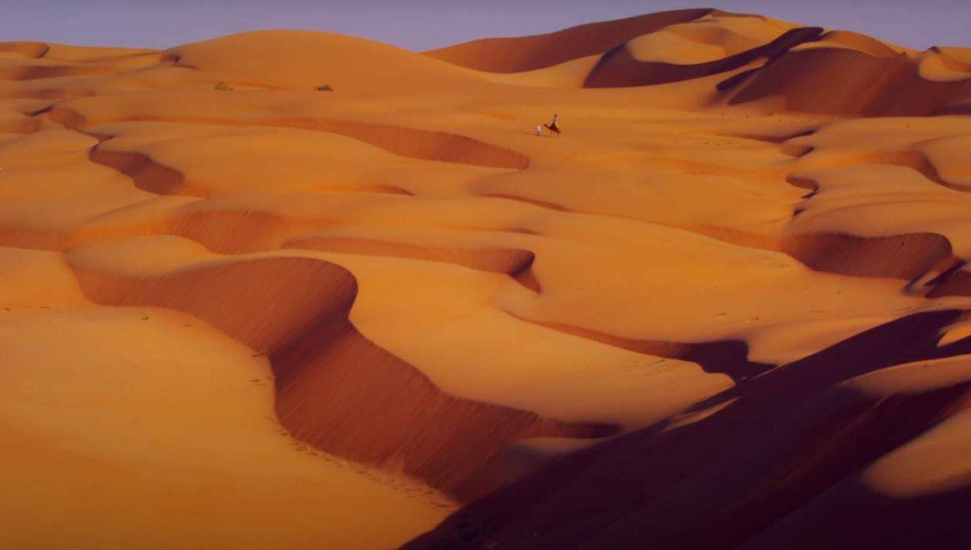 """Zdjęcia do """"Diuny"""" mają powstać na prawdziwej pustyni  (fot. Google Street View)"""