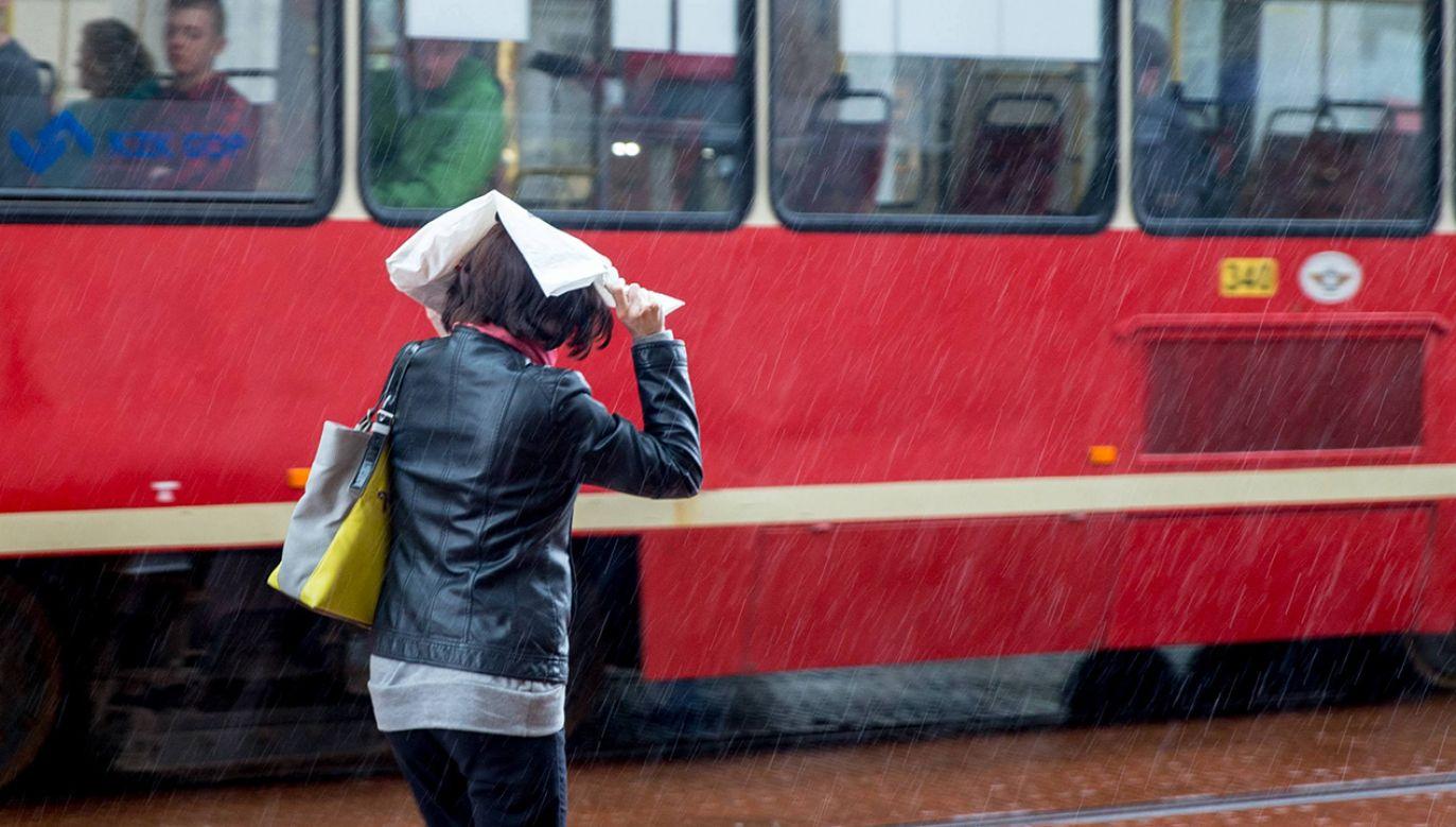 Będą burze i intensywny deszcz (fot. arch. PAP/Andrzej Grygiel)