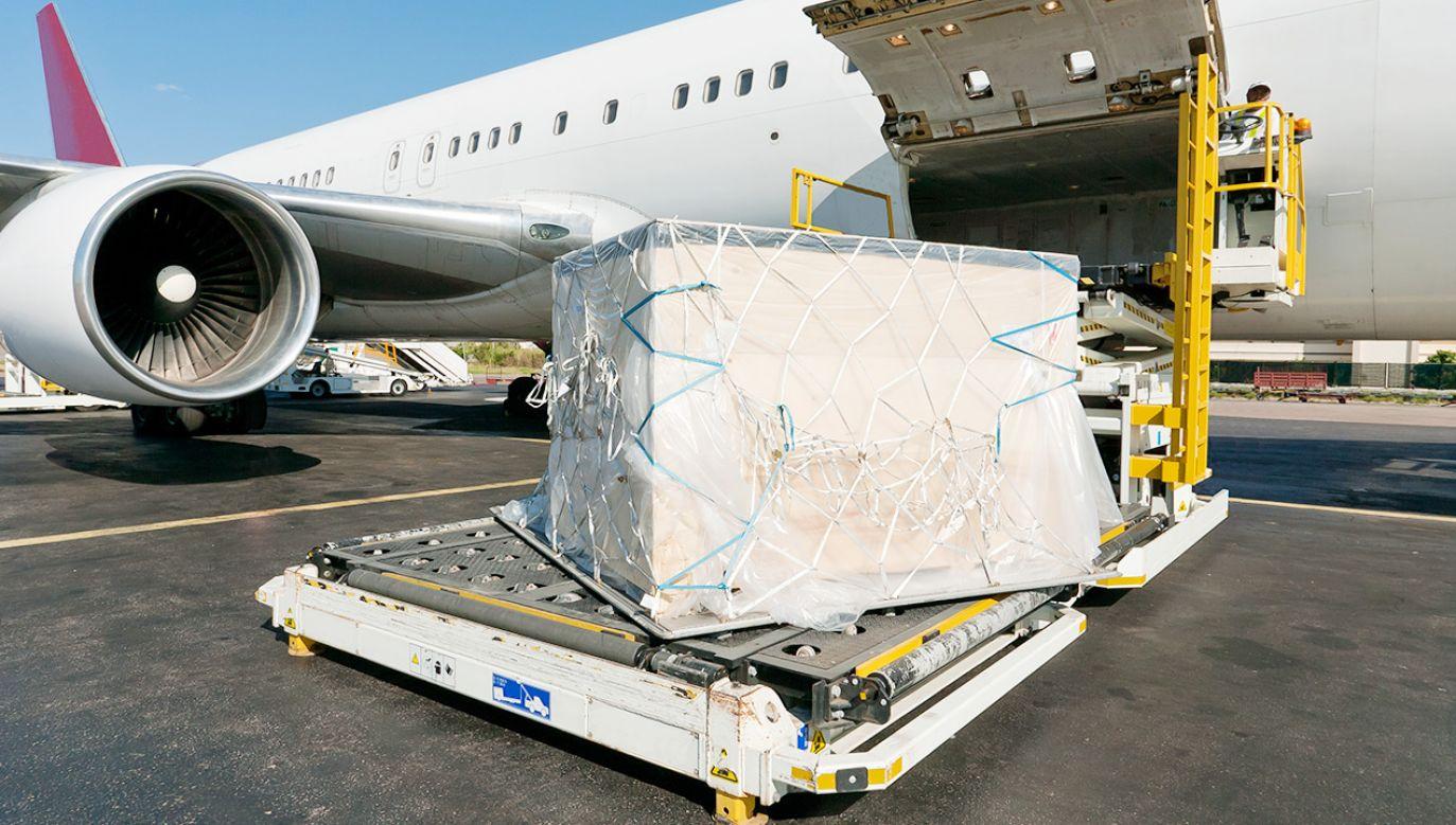 Lotniczy ruch towarowy nie ucierpiał znacznie przez pandemię (fot. Shutterstock)