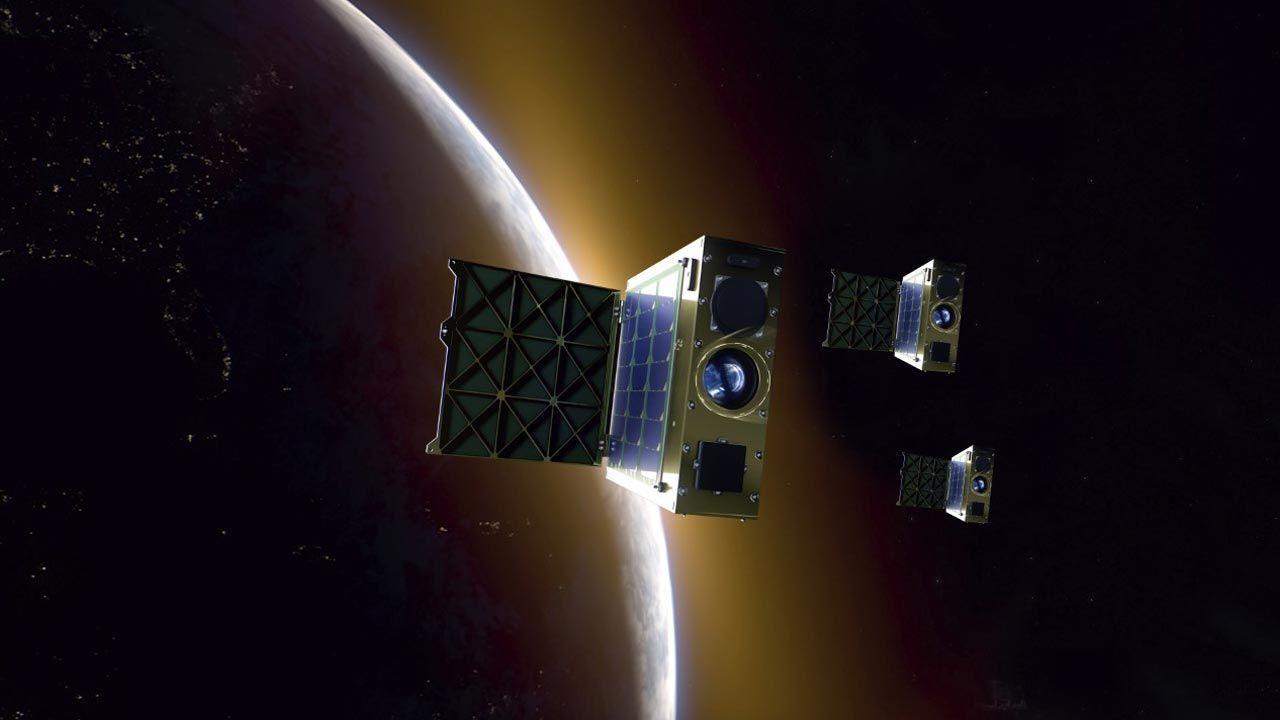 Satelity umieszczone zostaną w przestrzeni kosmicznej w 2024 roku (fot. Creotech Instruments S.A.)