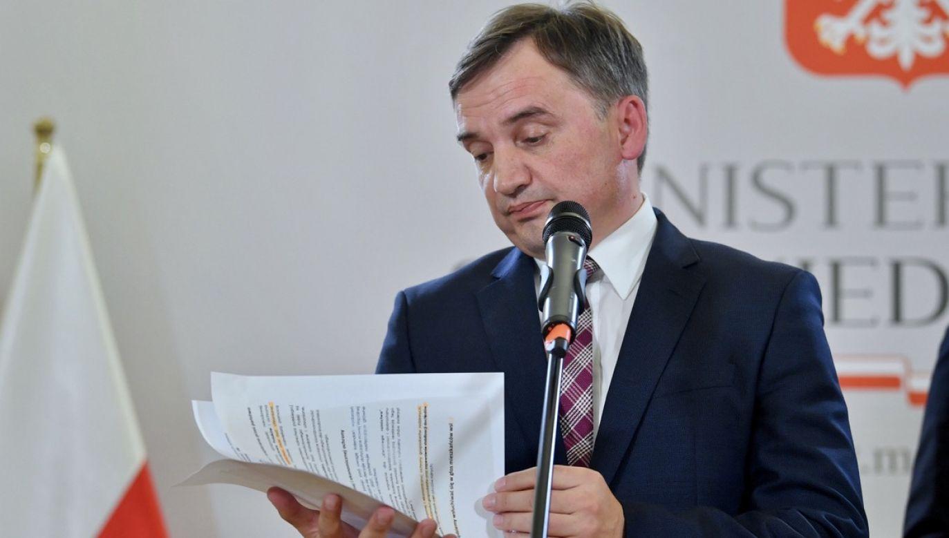 Jak zachowa się szef Solidarnej Polski? (fot. PAP/Radek Pietruszka)
