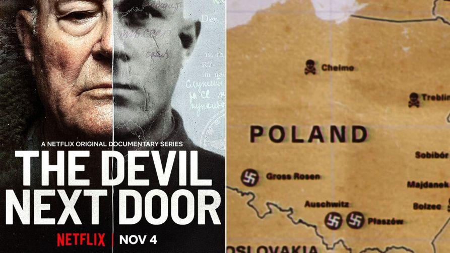 W serialu pojawiły się niemieckie obozy wpisane we współczesne granice Polski (fot. Netflix)