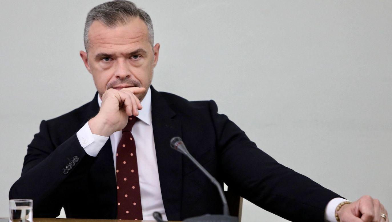 Były minister jest podejrzany o korupcję (fot. arch.PAP/Leszek Szymański)
