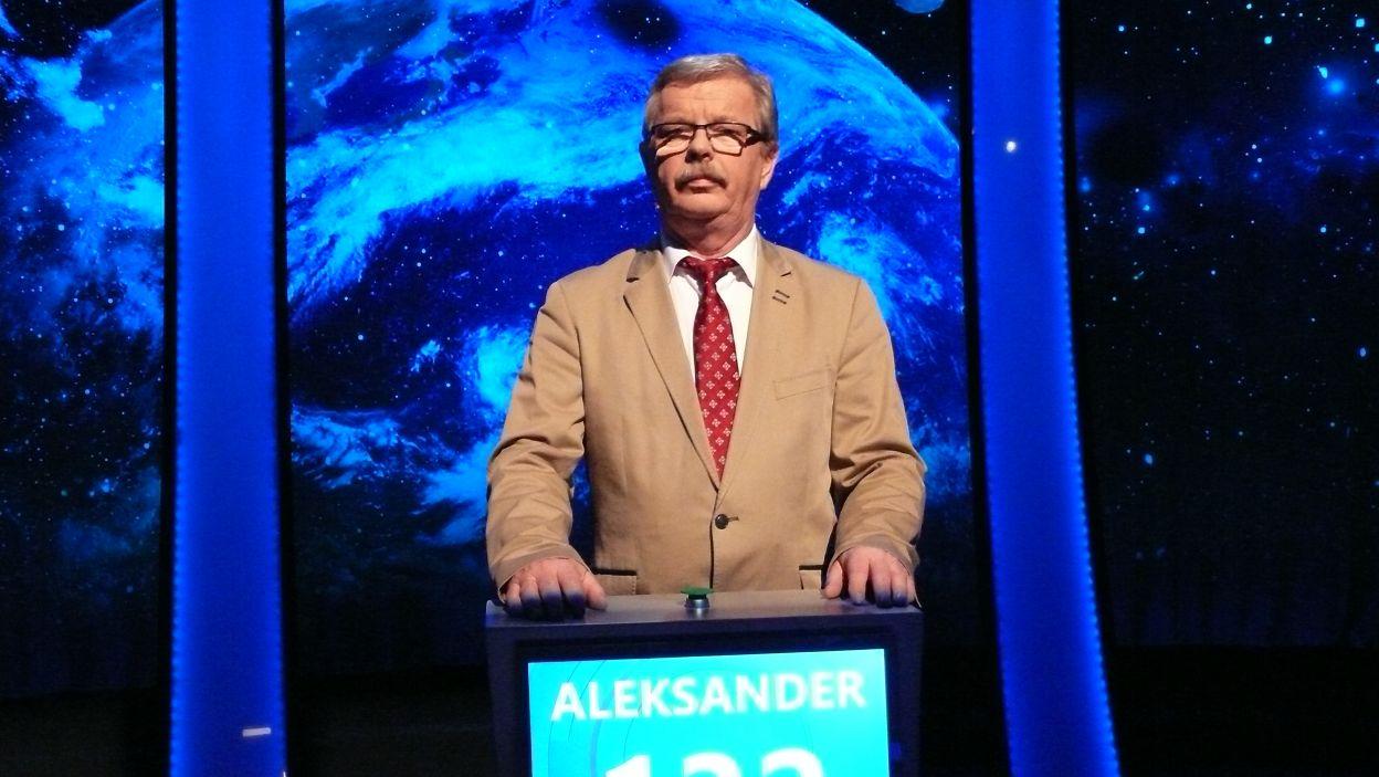 Aleksander Wójcik - zwycięzca 8 odcinka 115 edycji