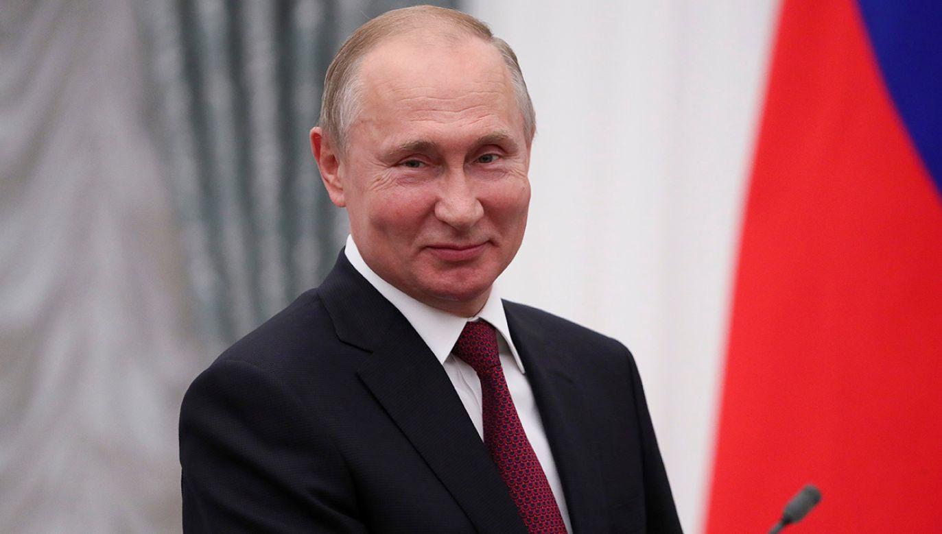 Władimir Putin nie zrezygnował z prowadzenia agreswynej polityki (fot. REUTERS/Evgenia Novozhenina)