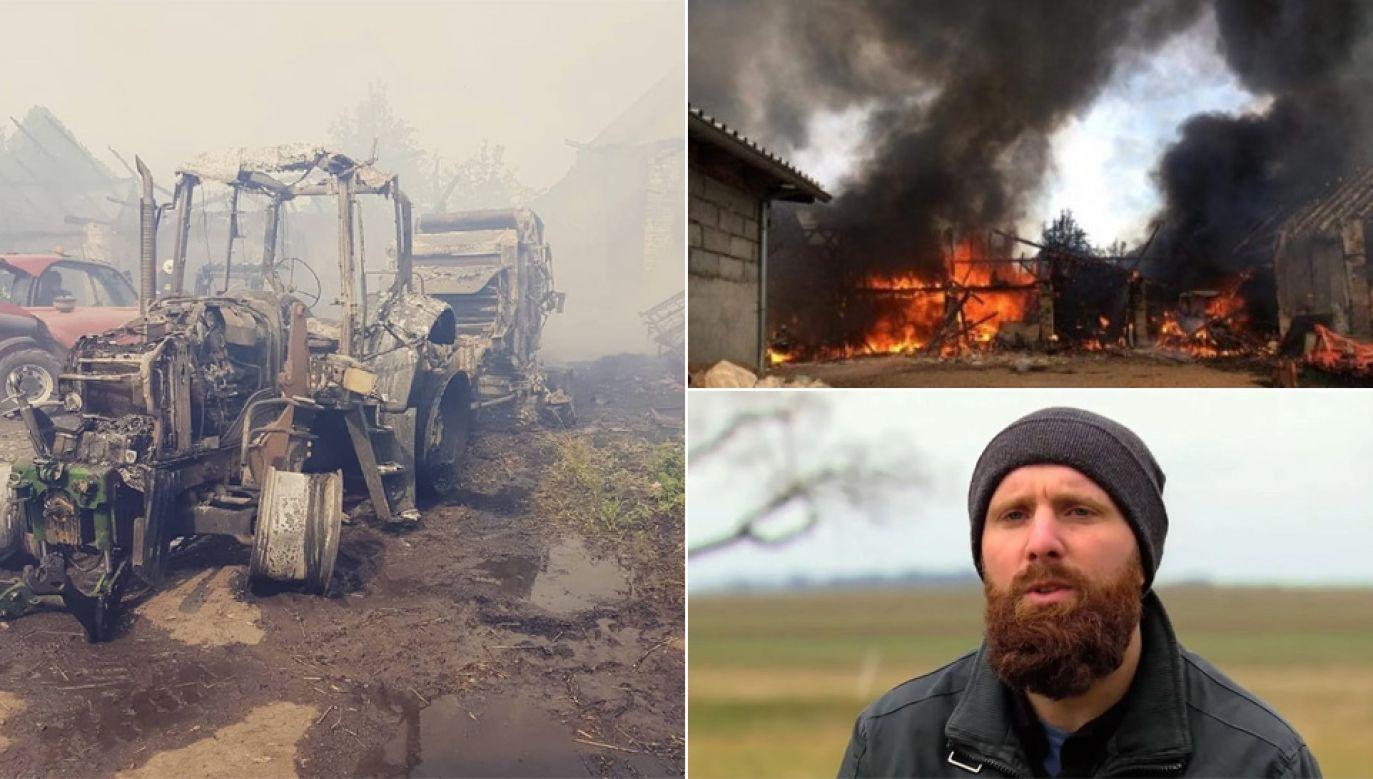 Rodzina Adama Broja potrzebuje pomocy (fot. TVP, Zrzutka.pl, FB)