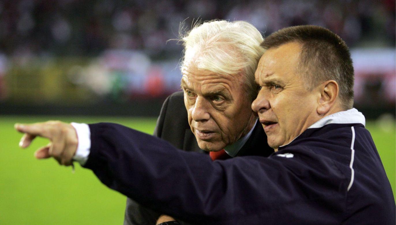 Bogusław Kaczmarek był asystentem Leo Beenhakkera w reprezentacji Polski (fot. PAP)
