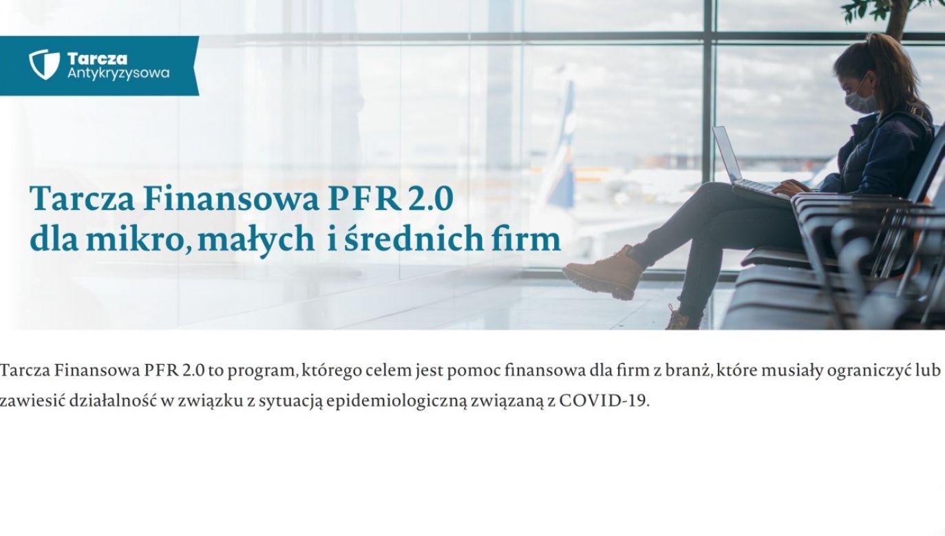 Mikro, małe i średnie firmy mogą składać przez internet wnioski o wsparcie z Tarczy Finansowej 2.0 PFR(fot. https://pfrsa.pl/)