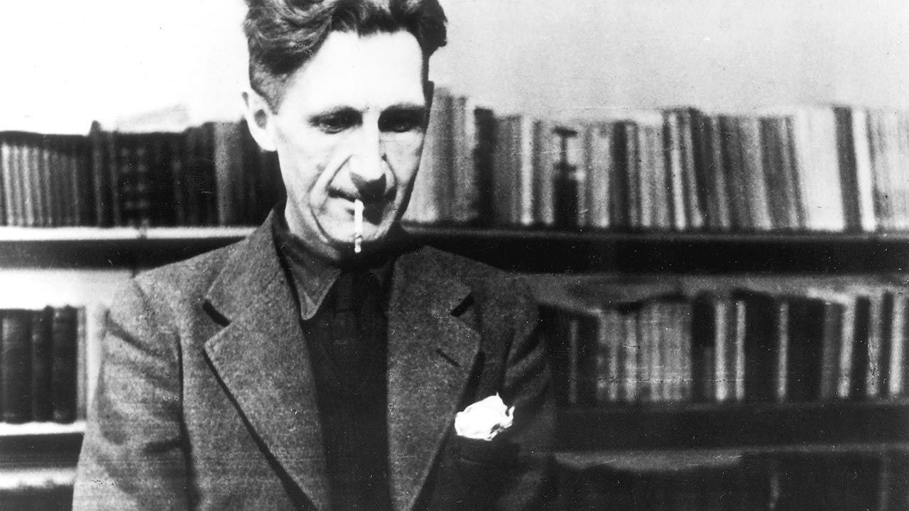 George Orwell (fot. ullstein bild/ullstein bild via Getty Images)