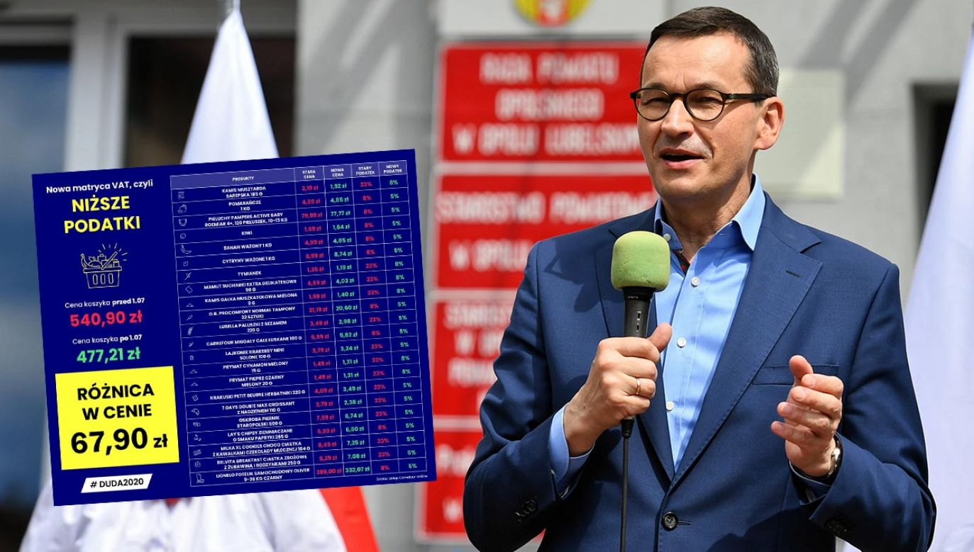 Premier Mateusz Morawiecki (fot. PAP/Wojtek Jargiło)