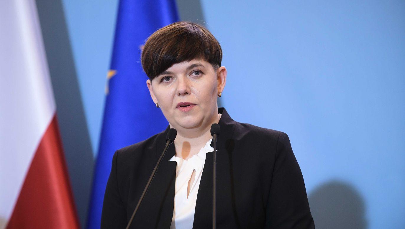 Przewodnicząca Rady Rodziny Dorota Bojemska (fot. PAP/Marcin Obara)