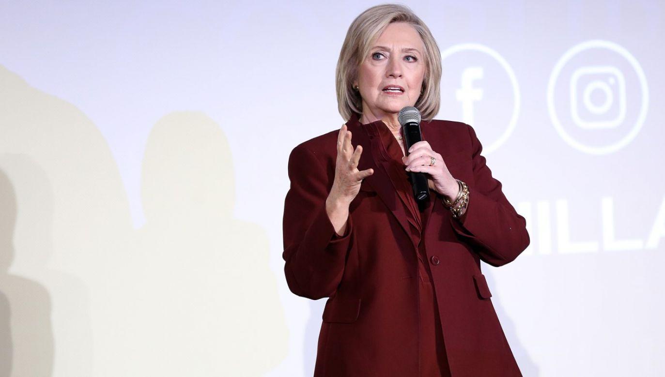 """Sprawa """"Russiagate"""" przykryła w mediach skandal z wyciekiem maili Hillary Clinton (fot. Monica Schipper/Getty Images for Hulu)"""