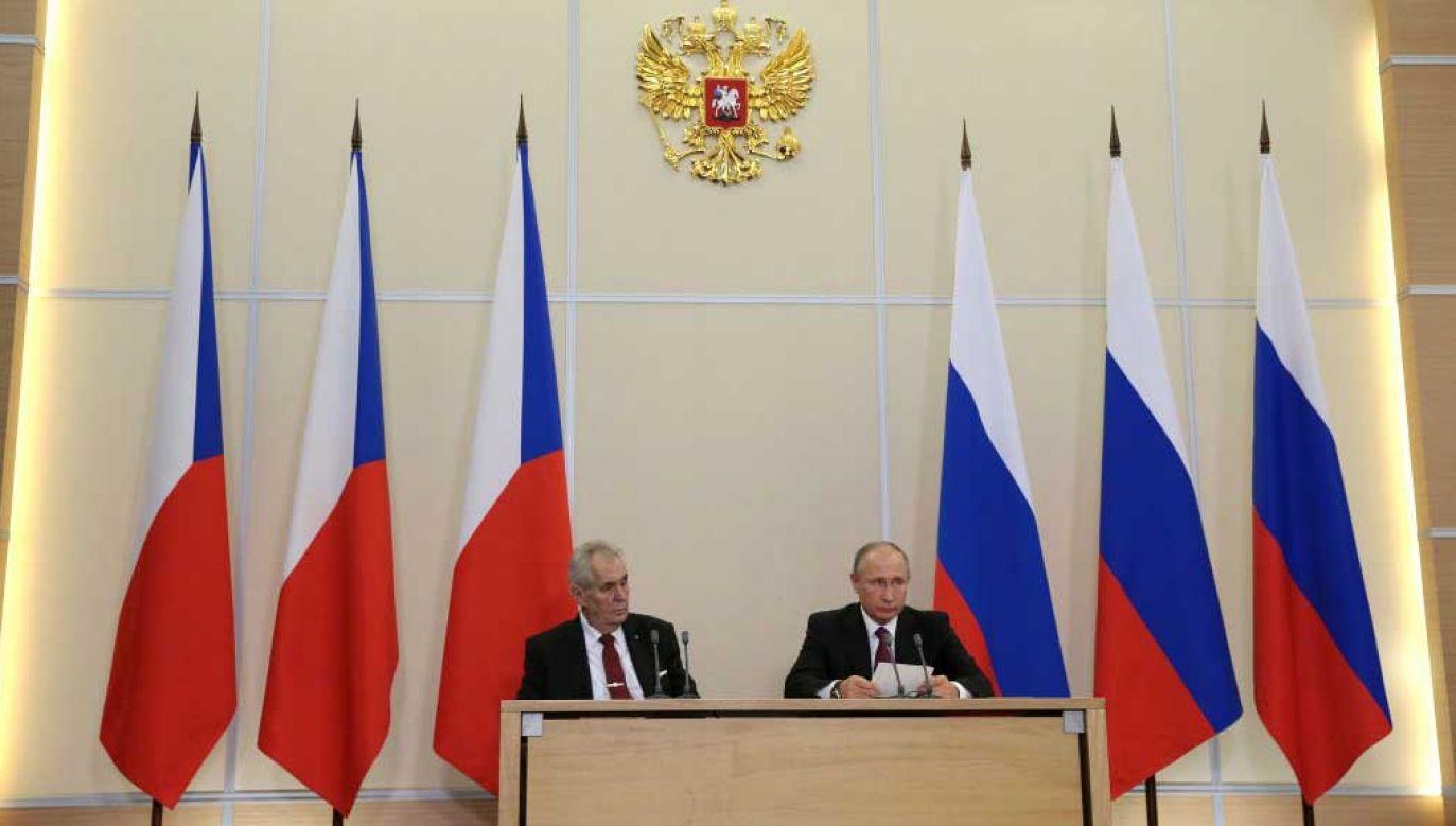Czeska odpowiedź na działania Rosji (fot. Mikhail Metzel\TASS via Getty Images)