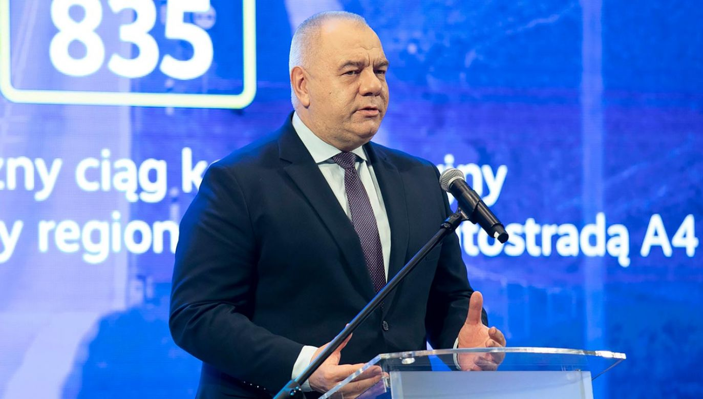 Jacek Sasin (fot. PAP/Jacek Szydłowski)