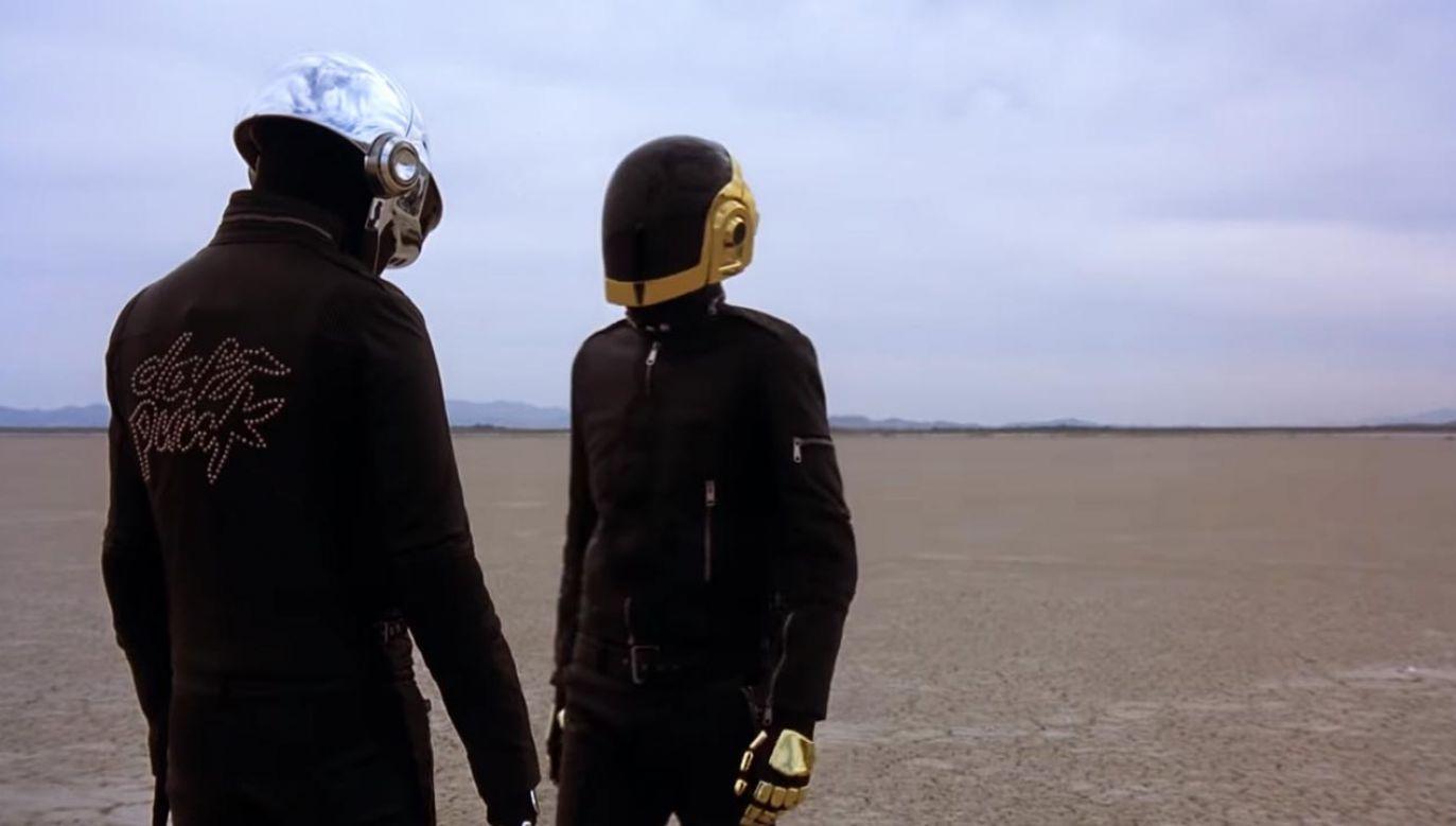 Francuski duet zakończył karierę (fot. YouTube/Daft Punk)
