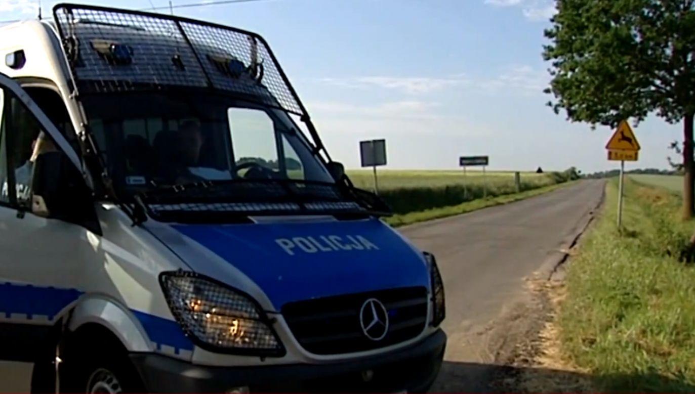 Szczegóły śledztwa i mordu w Mrowinach na 10-letniej Kristinie.  (fot. TVP info)