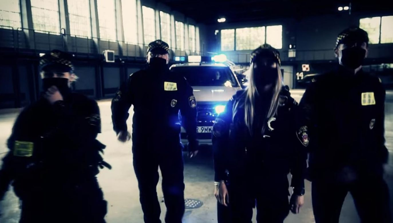 W ten sposób strażnicy włączyli się w pomoc dla lekarzy i personelu medycznego walczącego z pandemią koronawirusa (fot. Facebook/Straż Miejska Miasta Krakowa)
