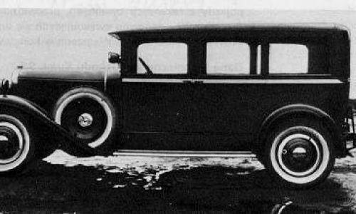 CWS T-1 był wygodny. Jego długość wynosząca 5 metrów sprawiała, że można było zamontować trzy rzędy siedzeń, wersja kareta (na zdjęciu) miała ich siedem... Fot. Domena publiczna, https://commons.wikimedia.org/w/index.php?curid=400902