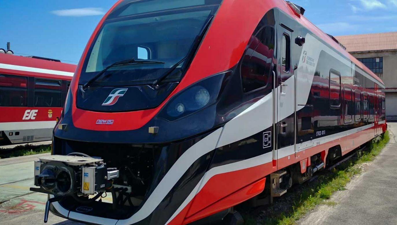 Kupione przez Włochów impulsy 2 to trójczłonowe EZT o prędkości konstrukcyjnej 120 km/h, posiadające 175 miejsc do siedzenia (fot. newag.pl)