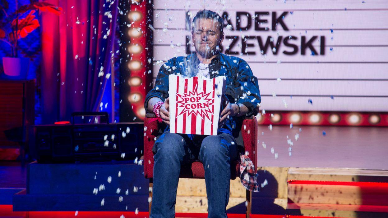 """Popcorn najpierw """"eksplodował"""" u Radka, więc ze zwycięstwa mogli się cieszyć Kasia i Robert (fot. J. Bogacz/TVP)"""