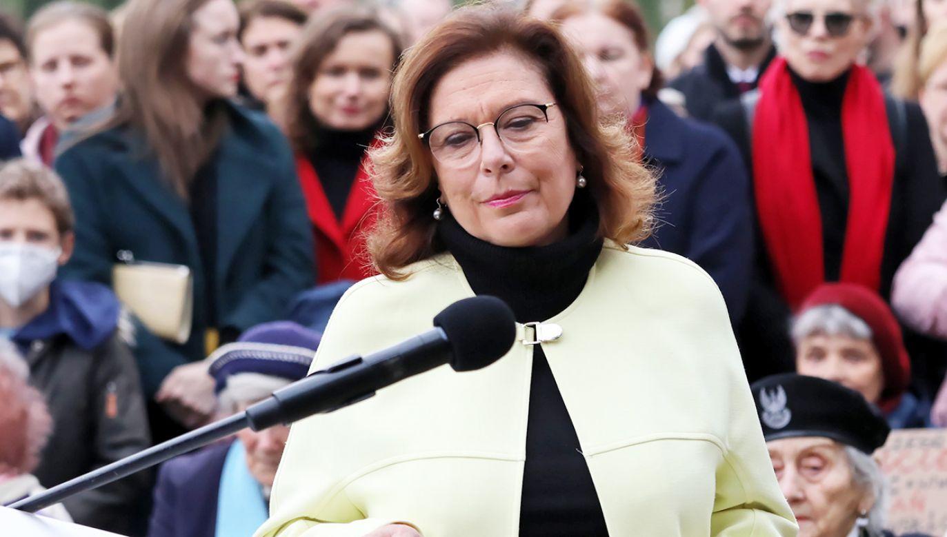 Małgorzata Kidawa-Błońska (fot. arch.PAP/Tomasz Gzell)