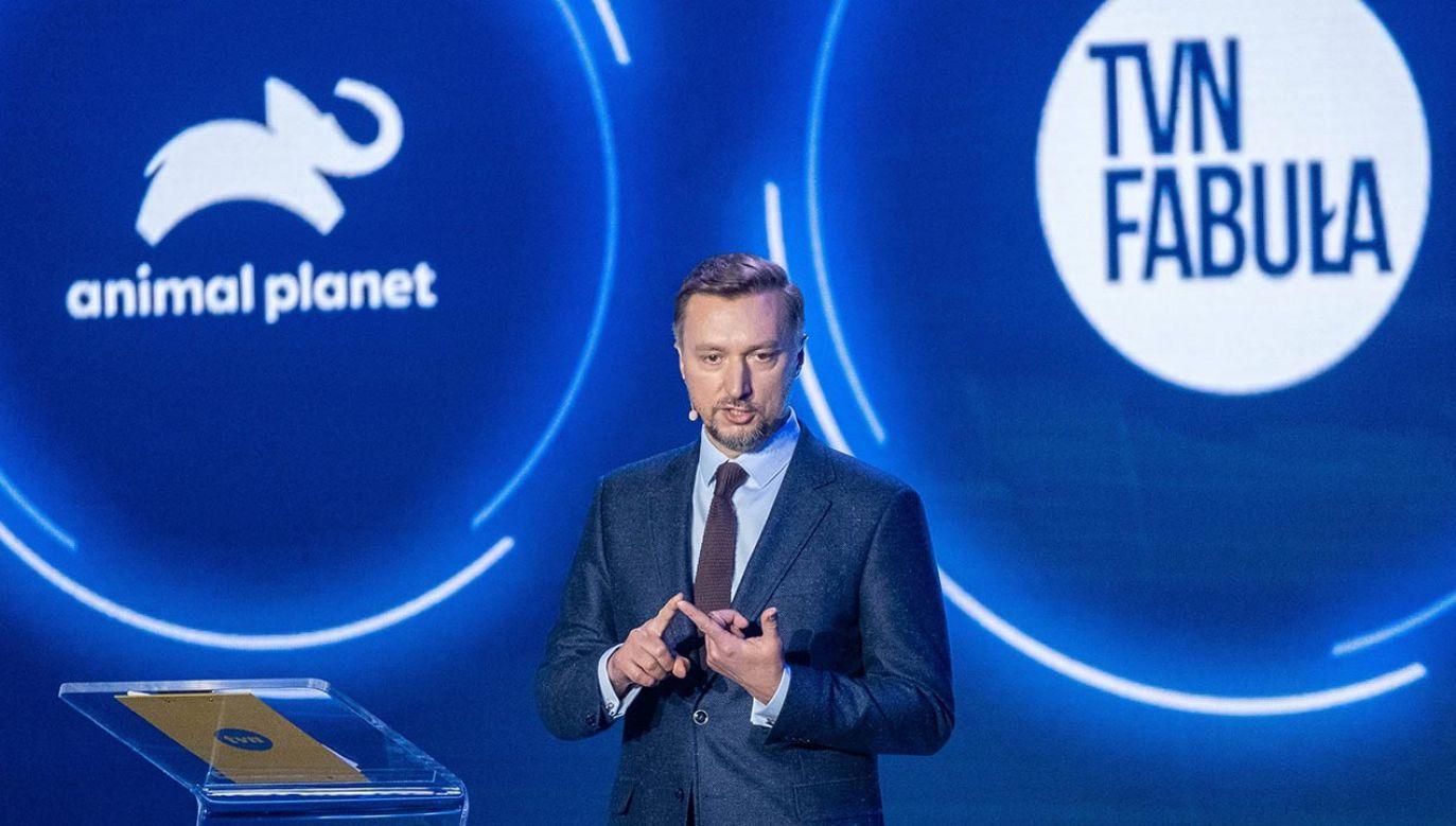 Piotr Korycki kieruje TVN Discovery polska od 2018 roku (fot. PAP/Kalbar)