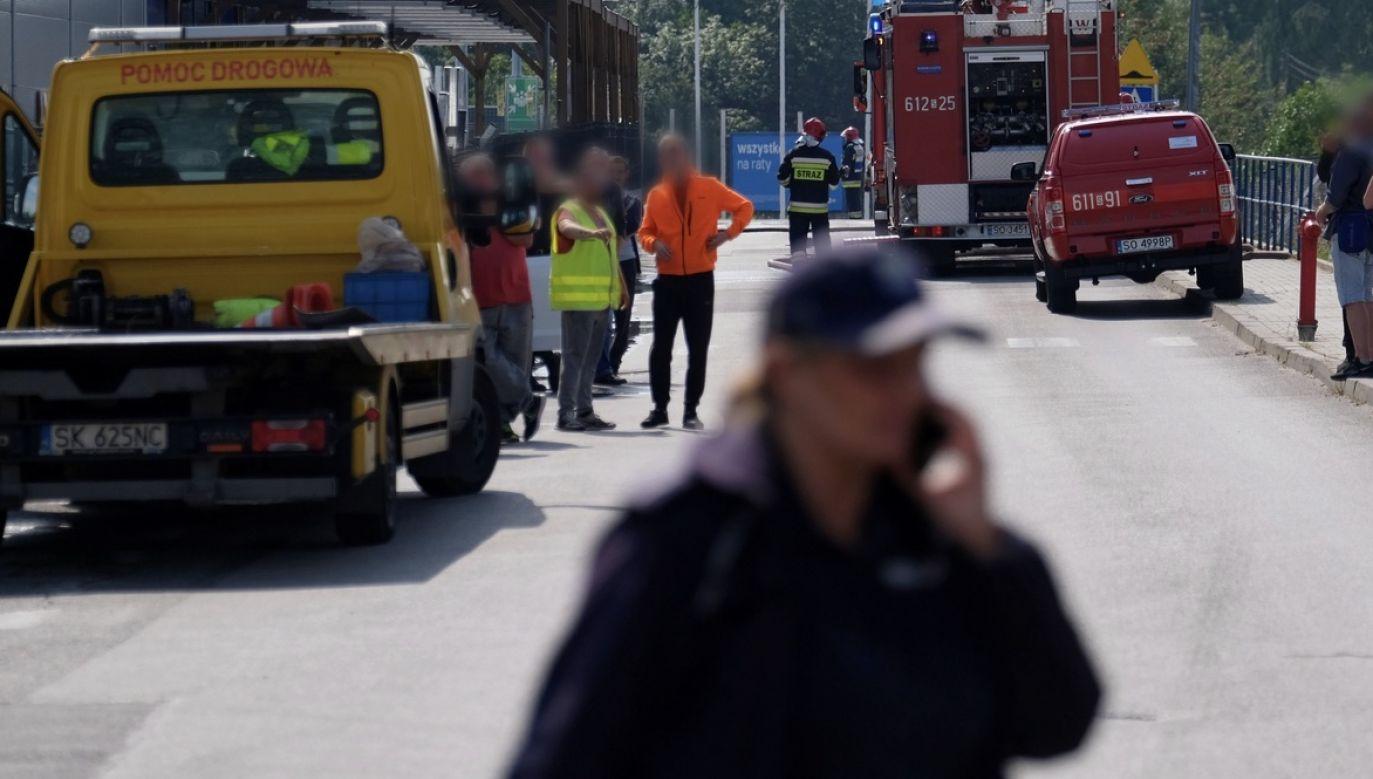 Policja jest w trakcie sprawdzania okoliczności zdarzenia (fot. arch.PAP/Andrzej Grygiel, zdjęcie ilustracyjne)